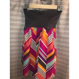 Roxy strapless dress size small